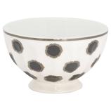 French Bowl medium Savannah white