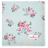 Napkin with lace Sonia pale blue