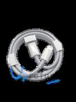 Ladekabel USB-C auf Lightning für iPhone 12/12 Pro/Max 1m, weiß