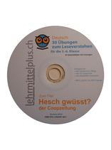"""Buch """"Hesch gwüsst?"""" auf einer CD"""
