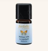 Farfalla Melisse 10% (90% Jojobaöl) bio Grand Cru
