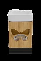 Schmetterling, Duftlampe (Bambus/Keramik)