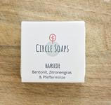 Circle Soaps - Haarseife Bentonit, Zitronengras & Pfefferminze