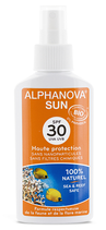 Alphanova Sonnenspray Kind ohne Nanopartikel BIO LSF30 125ml