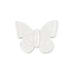 Duftstein Schmetterling, Unterseite glasiert (mit Schachtel)