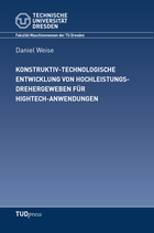Konstruktiv-technologische Entwicklung von Hochleistungsdrehergeweben für Hightech-Anwendungen