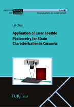 Application of Laser Speckle Photometry for Strain Characterization in Ceramics