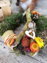 Kleiner Herbstlicher Kranz | Tischdeko
