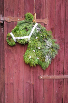 Pferd | Pferdekopf | Weihnachten | Weihnachtsdeko