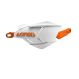 HANDGUARDS X-FACTORY - WHITE/ORANGE