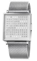 Qlocktwo W35 Fine Steel