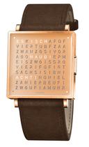 Qlocktwo W35 Copper Lederband