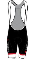 Swiss Damen Core Hose mit Trägern kurz