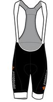 Orange Edition Damen Core Hose mit Trägern kurz