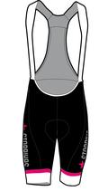 Pink Lady Damen Core Hose mit Trägern kurz