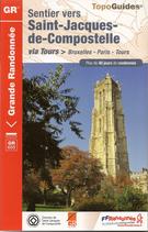 Sentier vers Saint-Jacques-de-Compostelle via Tours