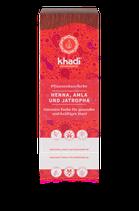 Khadi - Henna, Amla & Jatropha - Pflanzenhaarfarbe