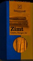 Zimtstangen Ceylon, Sonnentor, 18  g, ganz