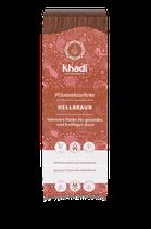 Khadi - Hellbraun - Pflanzenhaarfarbe