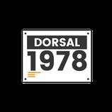Dorsal A5 (numerado)