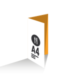 Menú Díptico A4 vertical