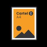 Cartel A4 (29,7 x 21 cm)