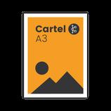 Cartel A3 (42 x 29,7 cm.)