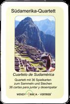 Südamerika-Quartett incl. Porto/Versandkosten