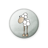 Button Moinsieur Mo