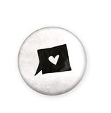 Button Herzgeschichte