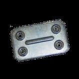 Пластина крепежная ПК 40*67*1,2 цинк