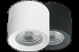Erweiterungsset Beleuchtung - 5x Loxone Aufbauspot LED Spot Warmweis