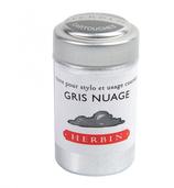 6 cartouches d'encre Herbin - Gris Nuage