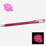 Stylo gel pailleté pink metallic pink - Pentel