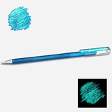 Stylo gel pailleté blue metallic green - Pentel