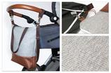 Wickeltasche / Kinderwagentasche: Grautöne