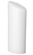 Kerze oval 23x9cm