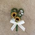 """Hochzeitsanstecker """"Sonnenblume"""""""