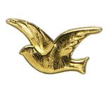 Wachs Taubenpaar gold