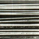 Wachsplatte schwarz-silber gestreift