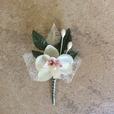 """Hochzeitsanstecker """"Orchidee"""""""