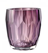 Glasvase Marquis, handgefertigt, violett