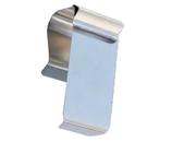 Preisschildhalter aus Edelstahl für Körbe und Rohre (1 VE = 50 Stück)