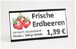 Preiskassette Obst & Gemüse für Einleger