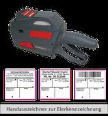 Starterset XL1: 1 Handauszeichner + 30 Rollen Etiketten