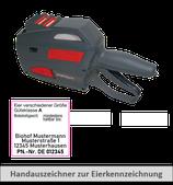 Starterset XL2: 1 Handauszeichner + 30 Rollen Etiketten