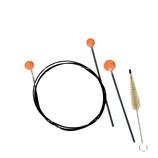 Cleaning set `REKA` for trumpet/flugelhorn
