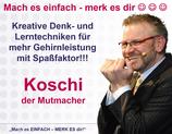 """""""Mach es EINFACH - MERK ES dir!"""" in Northeim am 11.12. - der Impulsvortrag im Freigeist"""