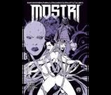 MOSTRI volume 5 variant ed. Bugs Comics