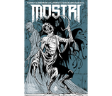 MOSTRI volume 4 variant ed. Bugs Comics